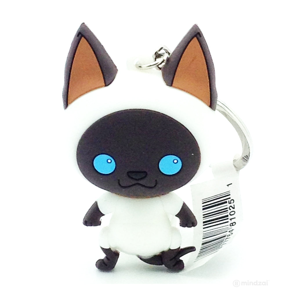 Purrfect Pets Cats Series 2 Figural Keychain - Siamese