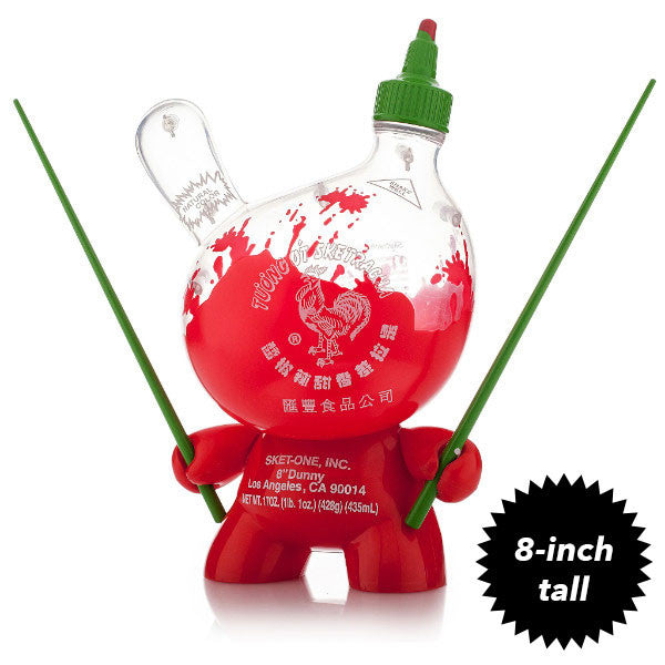 Sketracha Dunny 8-inch Clear by Sket One x Kidrobot - Mindzai
