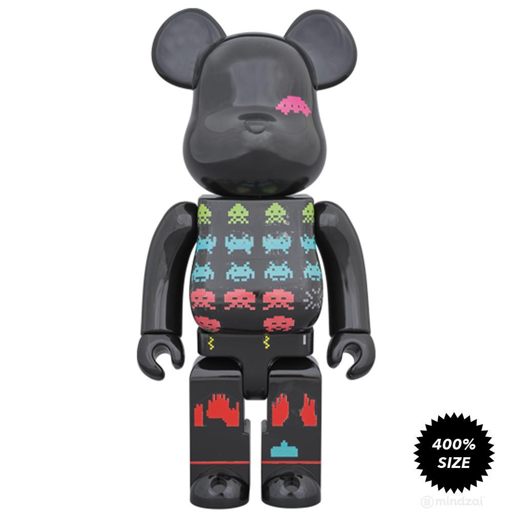 Space Invaders 400% Bearbrick by Medicom Toy - Pre-order