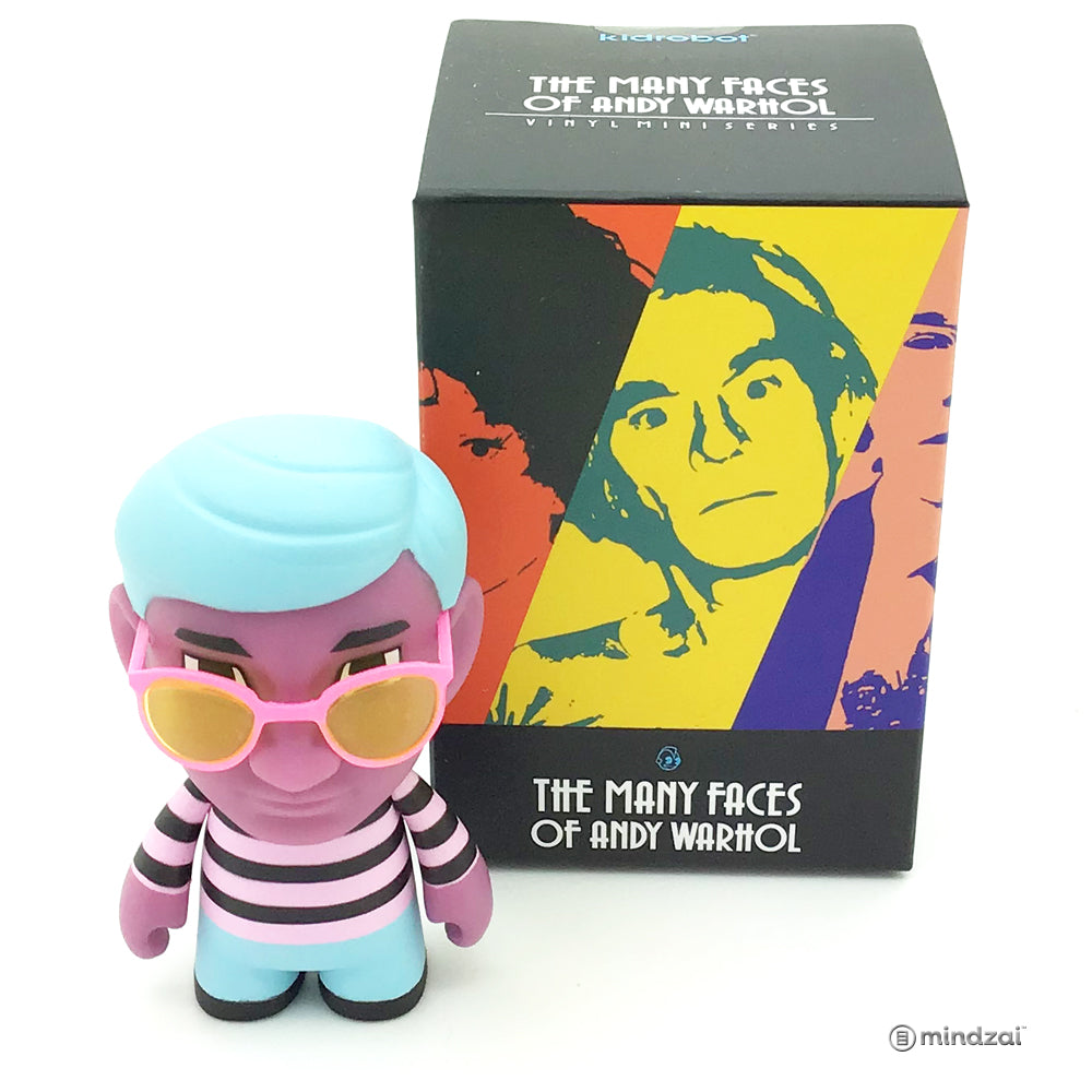Many Faces Of Andy Warhol Vinyl Mini Series by Kidrobot - Space Fruit 80s [Chase]