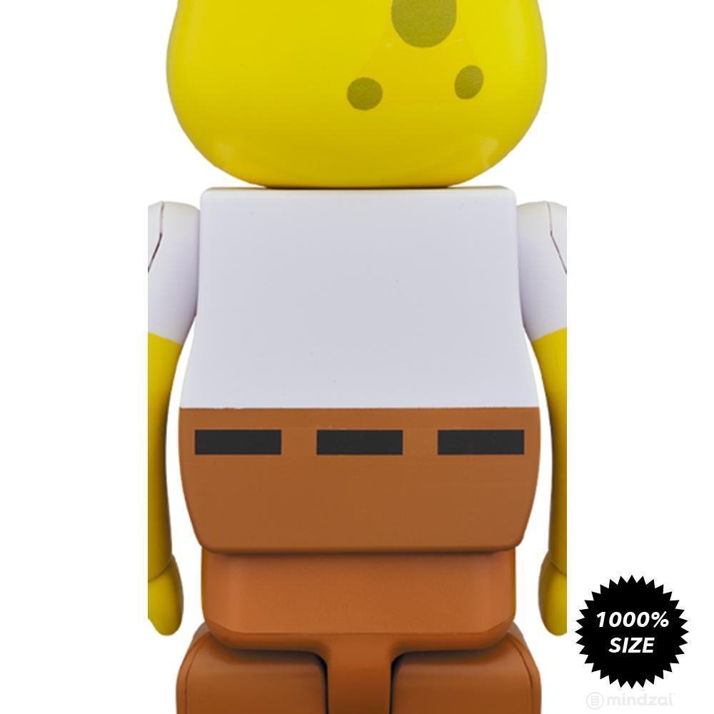 SpongeBob 1000% Bearbrick by Medicom Toy - Pre-order
