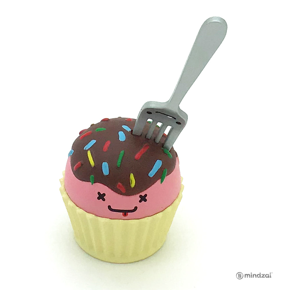 BFF Series by Travis Cain x Kidrobot - Sprinkles and Eddie (Cupcake and Fork)