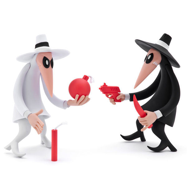 Spy Vs Spy Vinyl 2 Pack Toy Mindzai