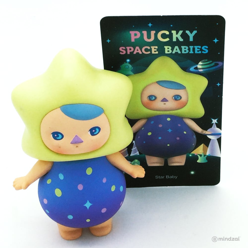 Space Babies Blind Box Toy by Pucky x POP MART - Star Baby
