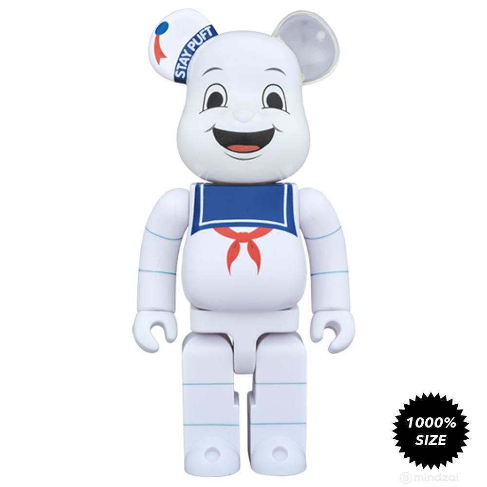 Stay Puft Marshmallow Man 1000% Bearbrick by Medicom Toy