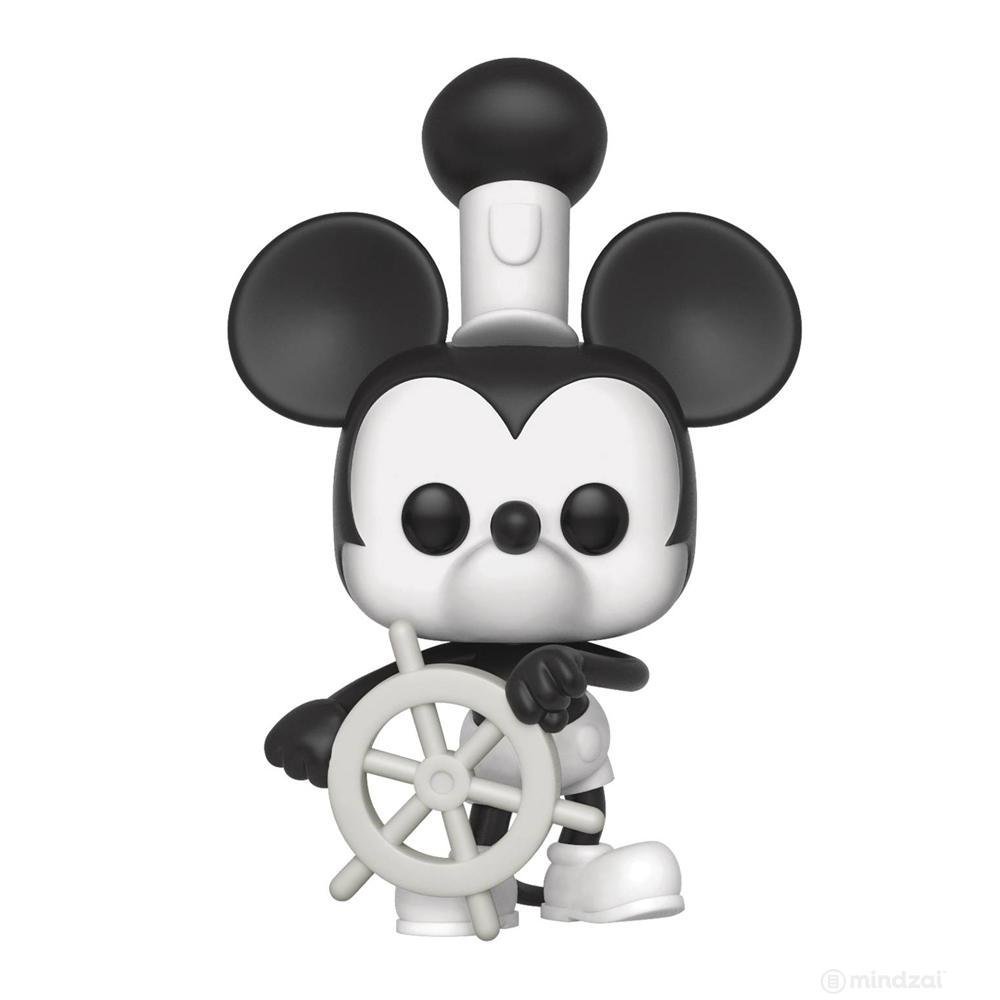 Disney Mickey 90th Steamboat Willie Pop Vinyl Toy Figure by Funko