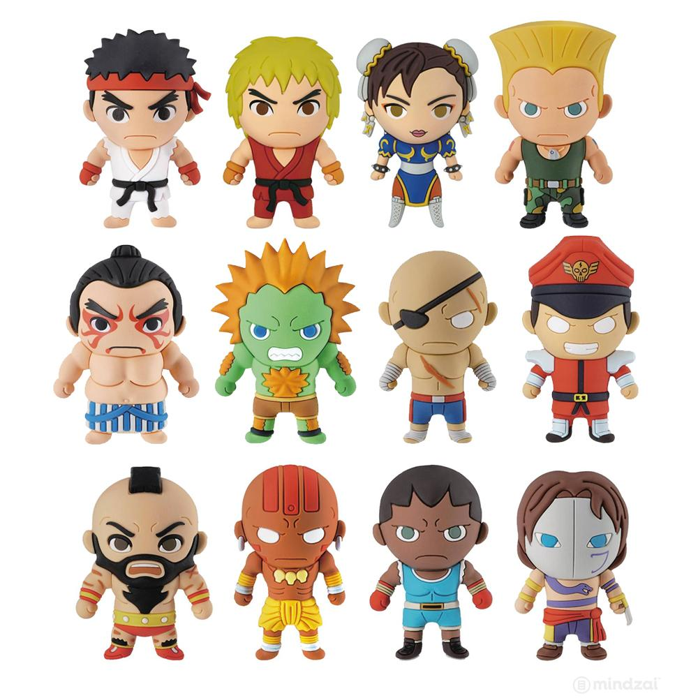 Street Fighter Series 1 Figural Keyring Blind Bag
