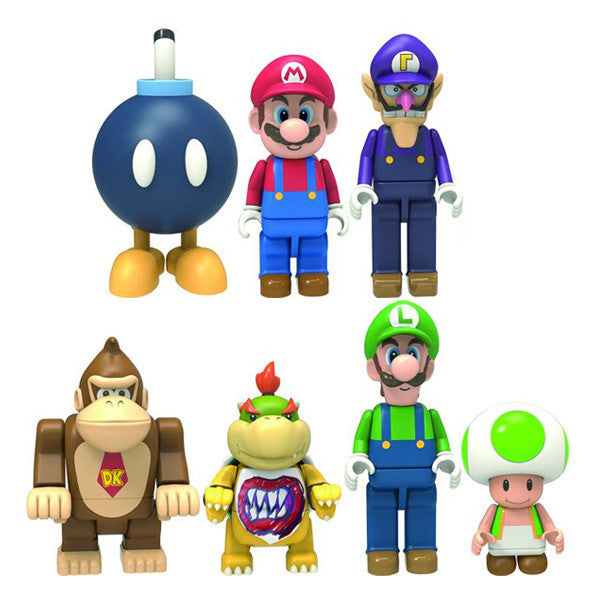 Super Mario K Nex Figures Single Blind Bag Mindzai