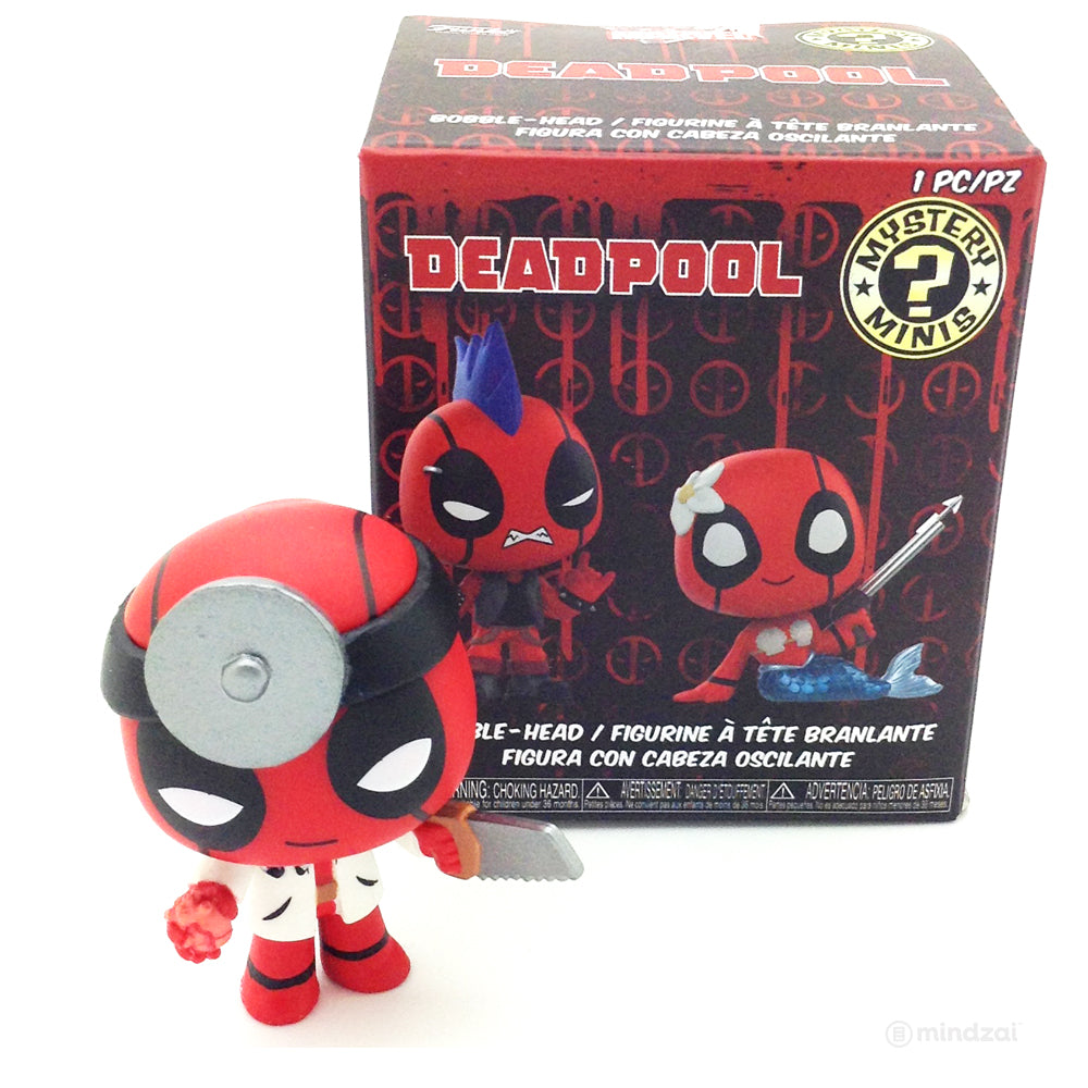 Deadpool Bobble-Head Mystery Minis by Funko - Surgeon Deadpool
