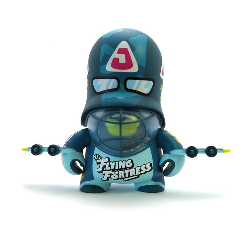 Teddy Troops 2.0 Series 1 - Blue Flying Fortress Trooper