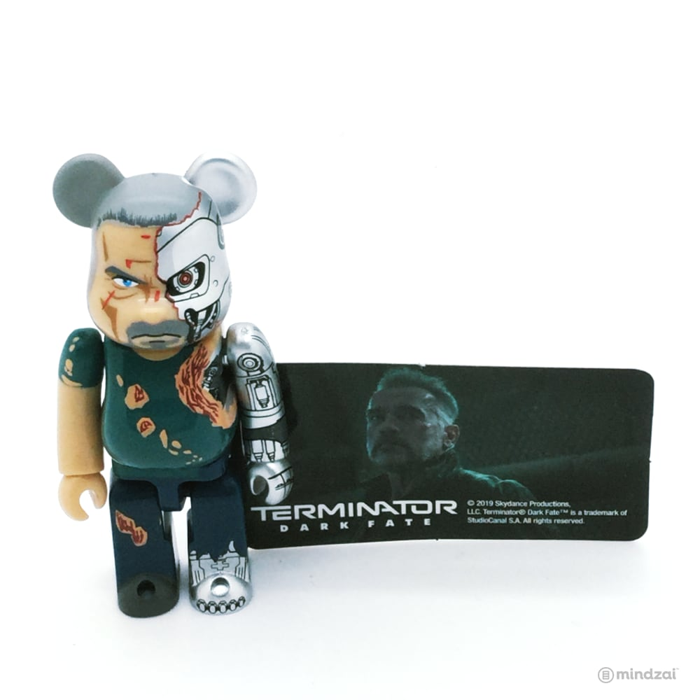 Bearbrick Series 39 - Terminator: Dark Fate T-800 (SF)