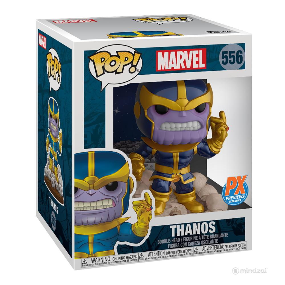Thanos Snap PX Exclusive Funko POP Toy Figure by Marvel x Funko