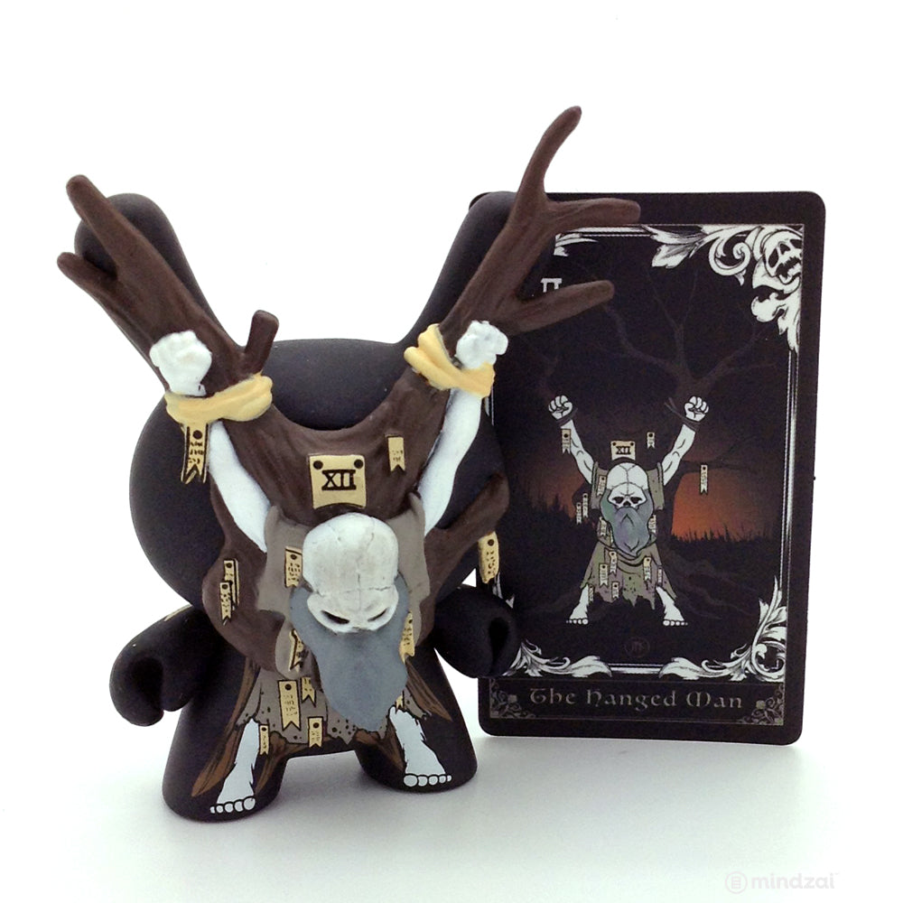 Arcane Divination Dunny Blind Box Series by Kidrobot - The Hanged Man (JPK)