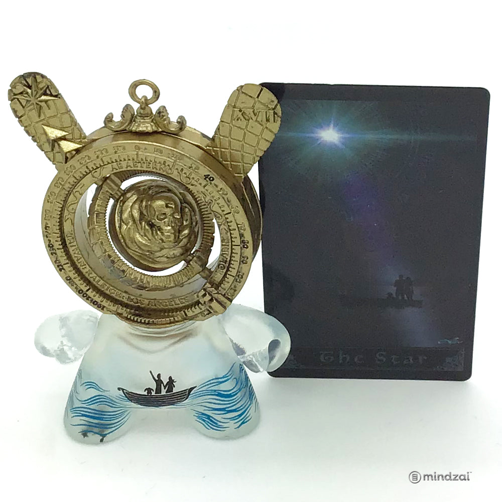 Arcane Divination Series Two The Lost Cards Dunny by Kidrobot - The Star (J*Ryu)