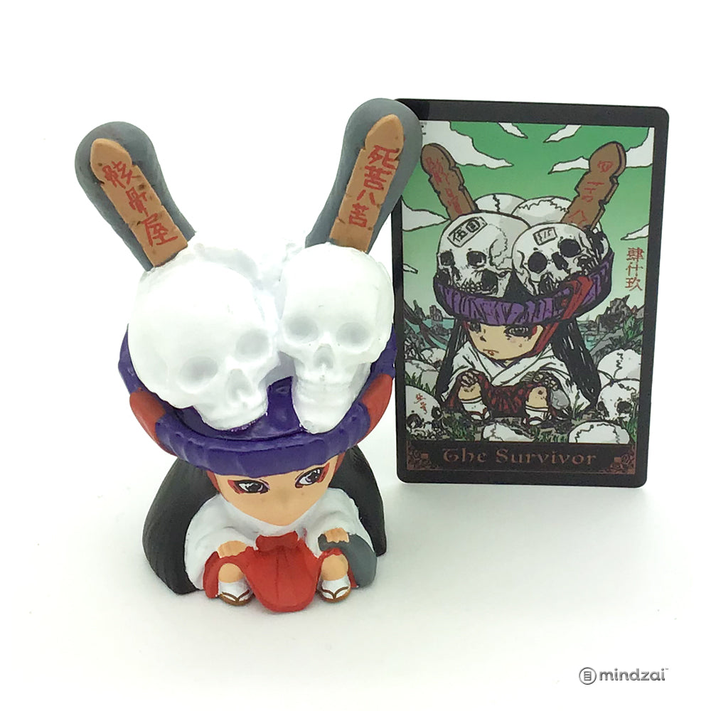 Arcane Divination Series Two The Lost Cards Dunny by Kidrobot - The Survivor (Tokyo Jesus)