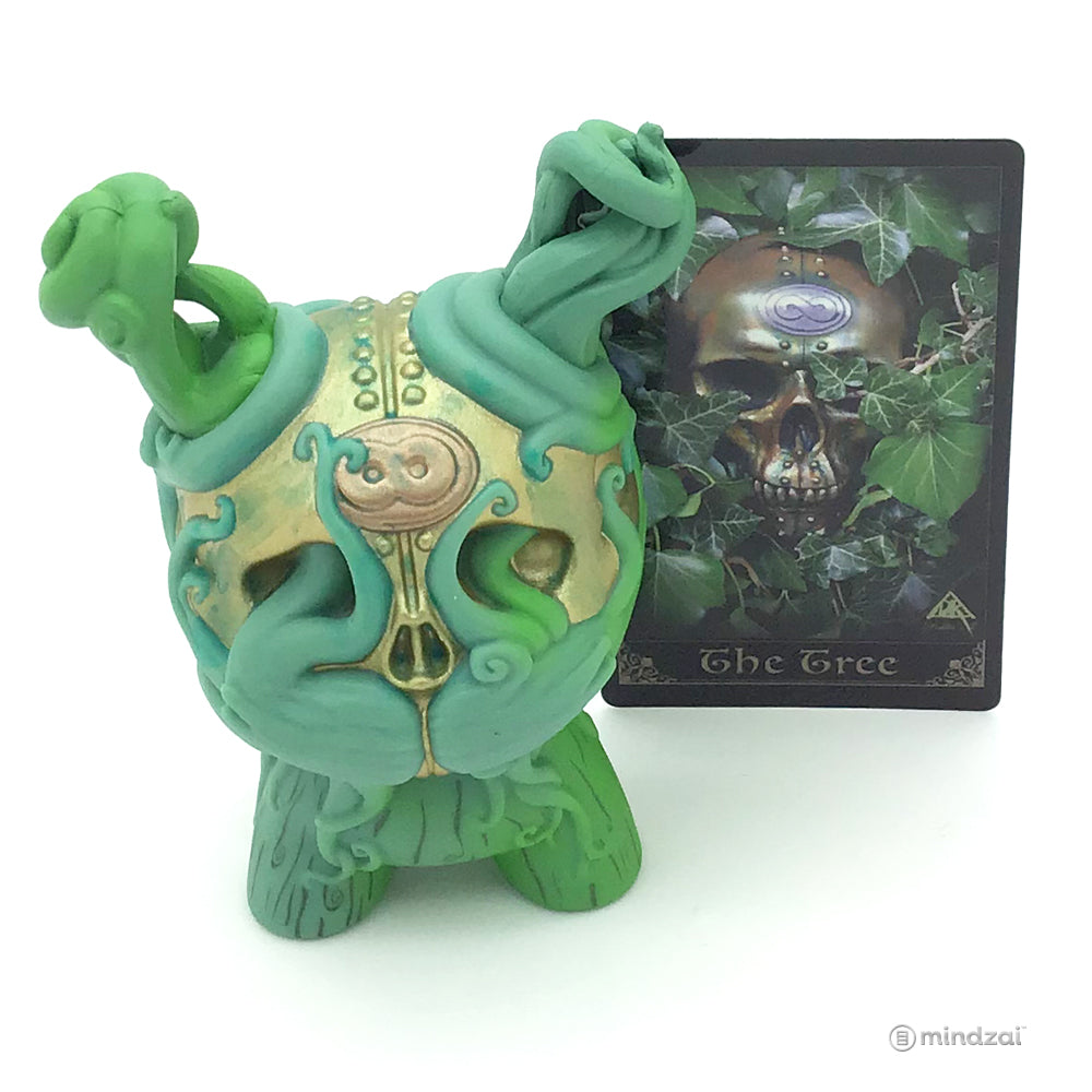 Arcane Divination Series Two The Lost Cards Dunny by Kidrobot - The Tree (Doktor A) [Chase]