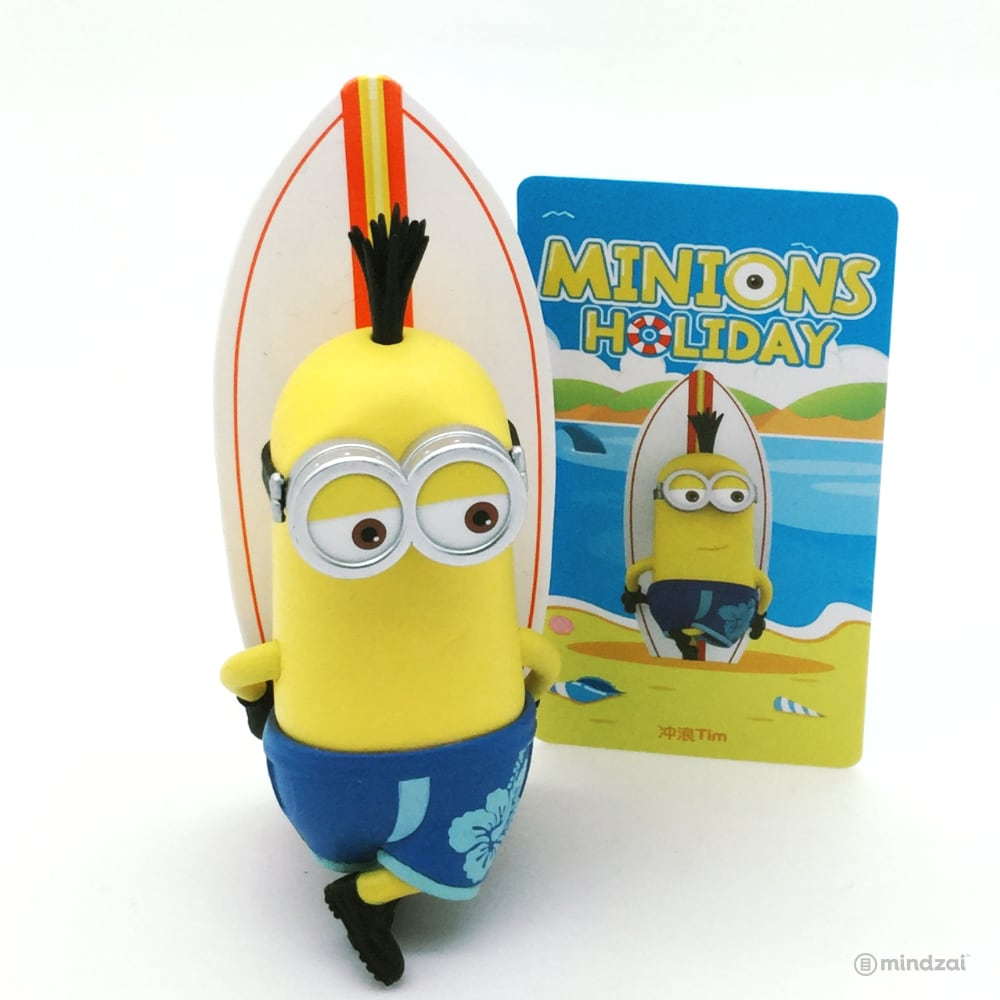 Minions Holiday Blind Box Series by POP MART - Tim with Surf Board