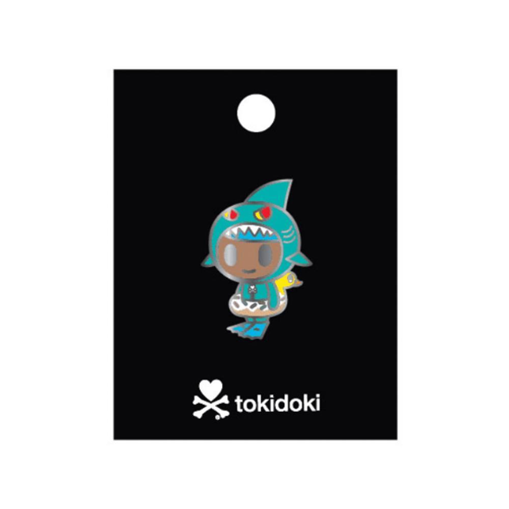 Little Shark Enamel Pin by Tokidoki