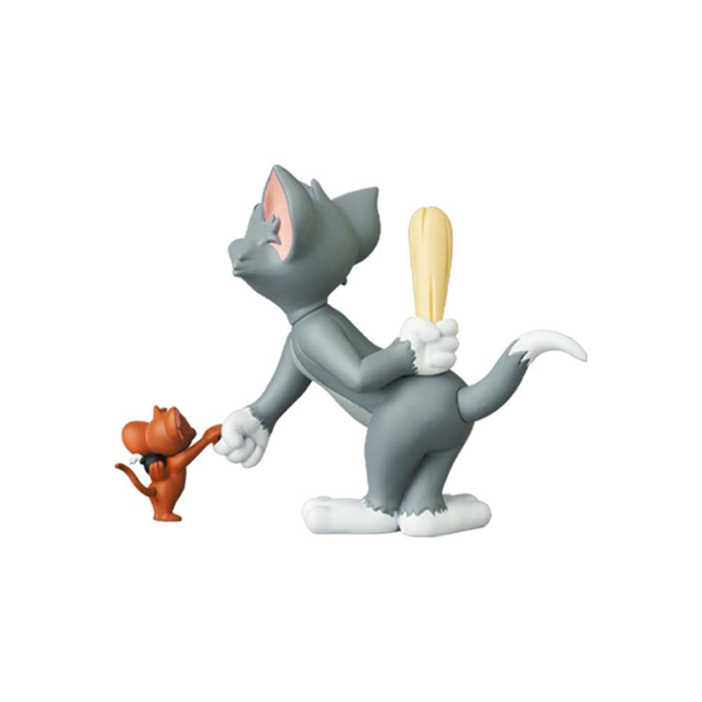 *Pre-order* Tom and Jerry: Tom (w/Club) and Jerry (w/Bomb) UDF by Medicom Toy