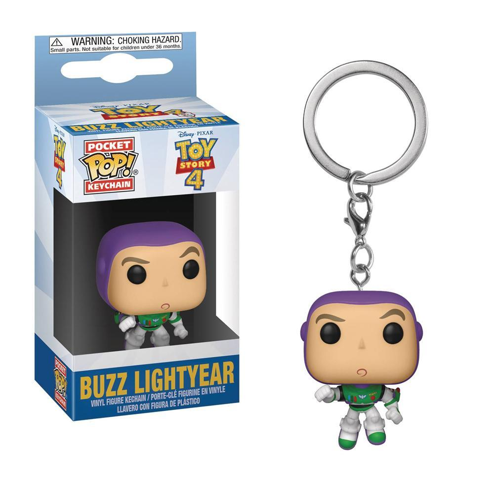 Disney Pixar Toy Story 4 Buzz Lightyear Pocket Pop Keychain by Funko