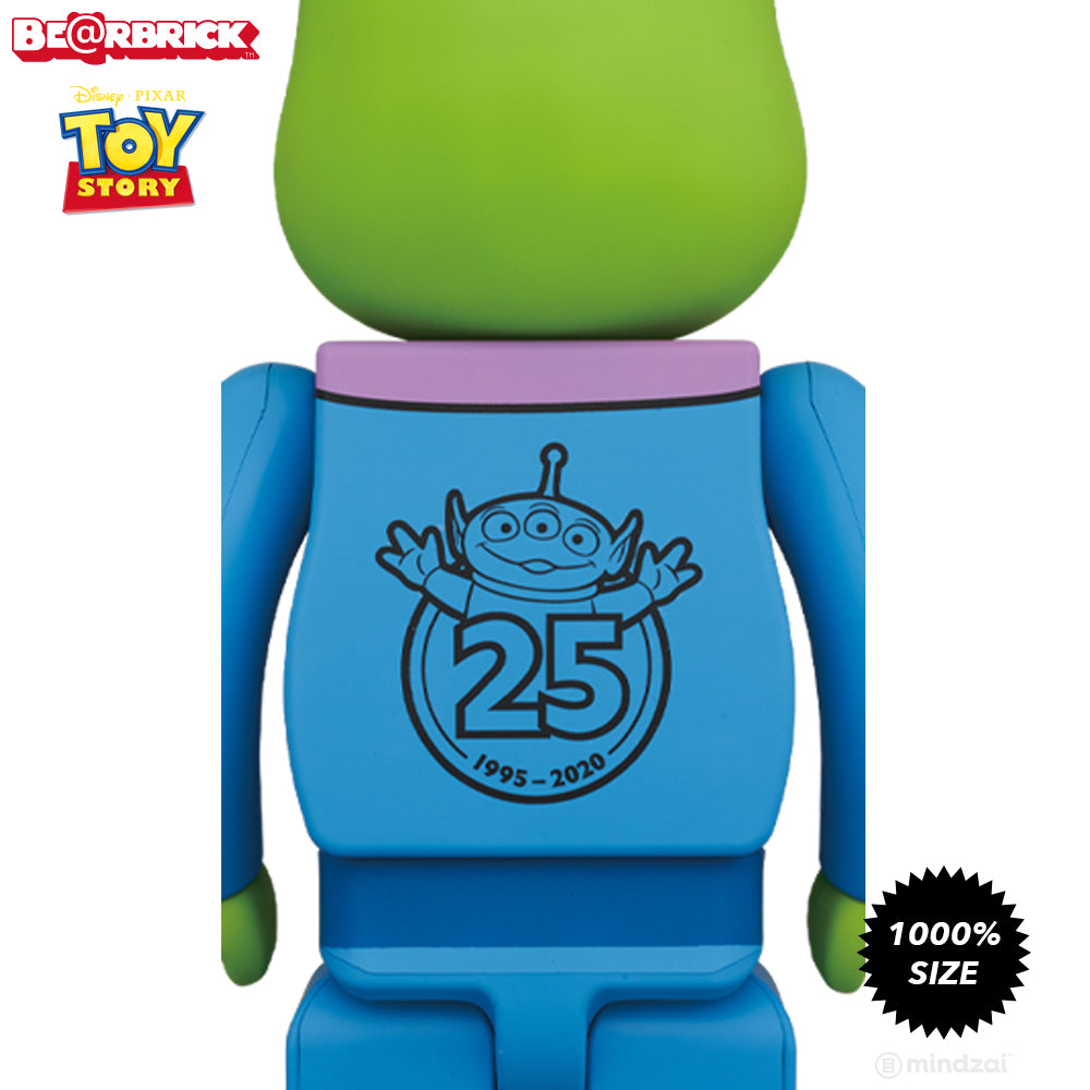 *Pre-order* Toy Story Alien 1000% Bearbrick by Medicom Toy