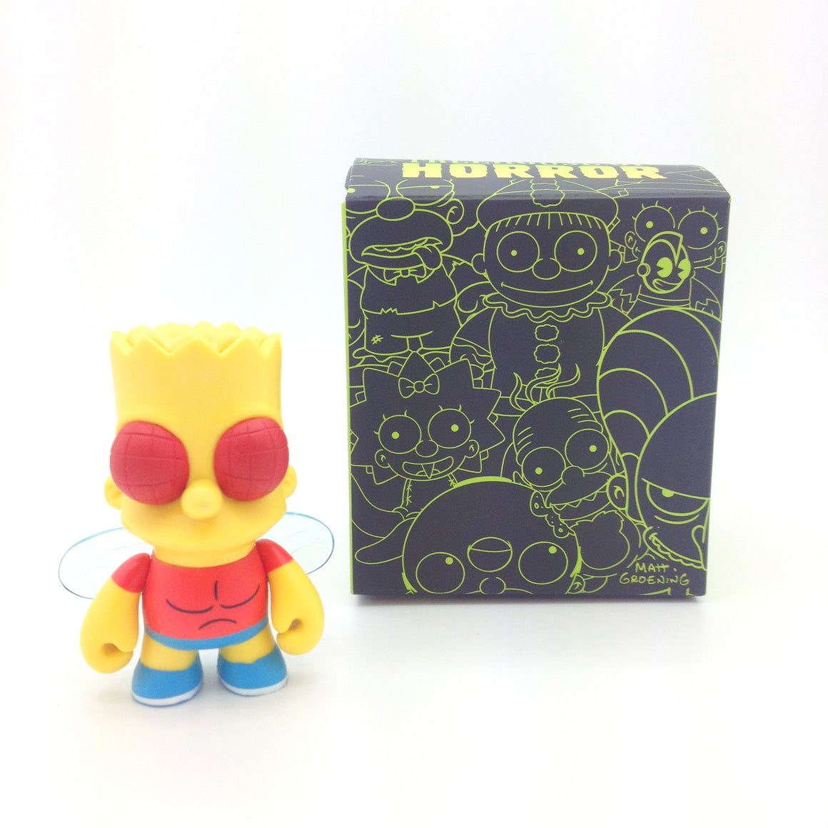 Kidrobot x Simpsons Treehouse of Horror Mini Series - Fly Bart - Mindzai  - 1