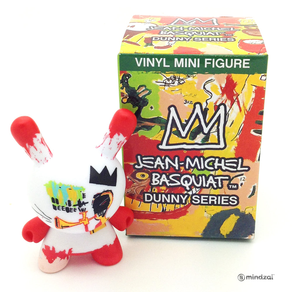 Jean Michel Basquiat Dunny Blind Box Minis Series - Trumpet Dunny