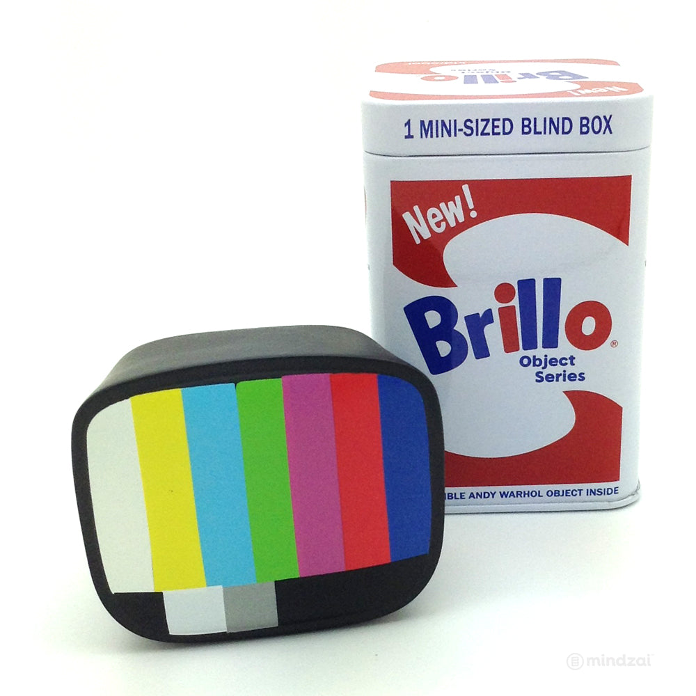Andy Warhol Brillo Box Mini Series Tin Can Blind Box - TV (Vinyl)