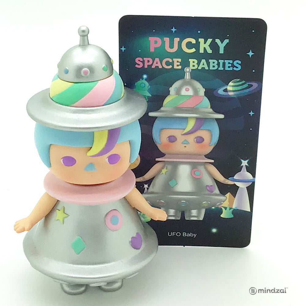 Space Babies Blind Box Toy by Pucky x POP MART - UFO Baby