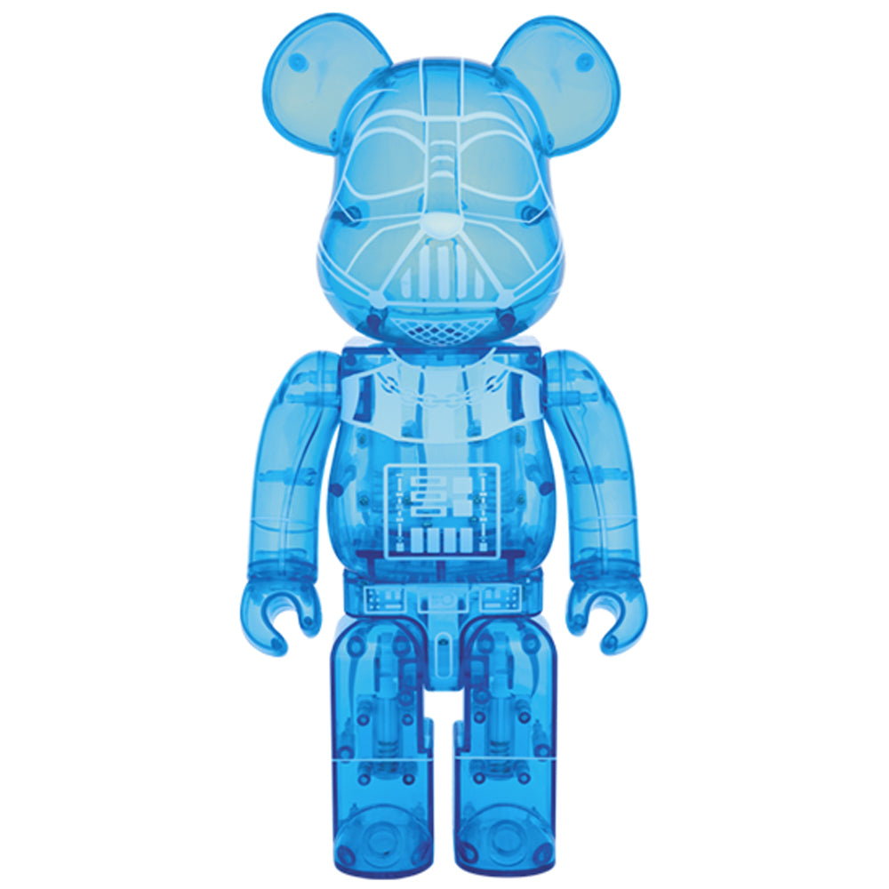 Darth Vader (Holographic Ver.) 400% Bearbrick by Star Wars x Medicom Toy