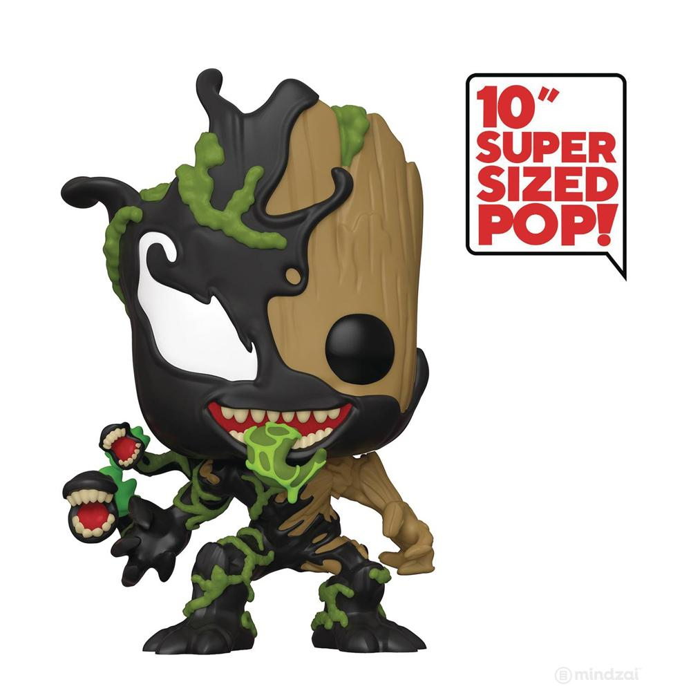 "Venomized Groot 10"" Bobblehead POP! Vinyl Figure by Funko"