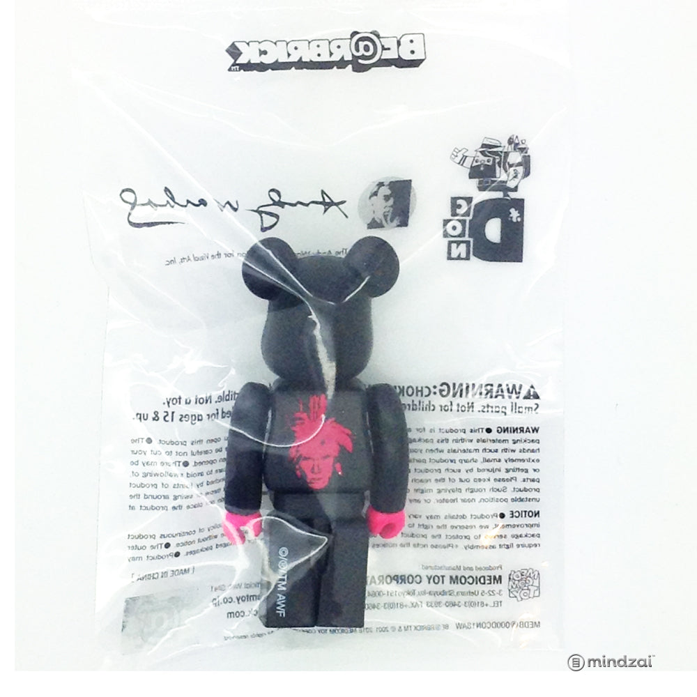 Andy Warhol Designer Con 2018 Bearbrick 100% Size