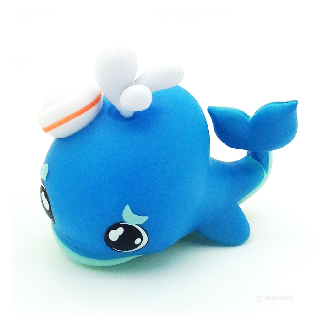 Crayola Critters Blind Box Mini Series by Kidrobot - Cerulean Whale