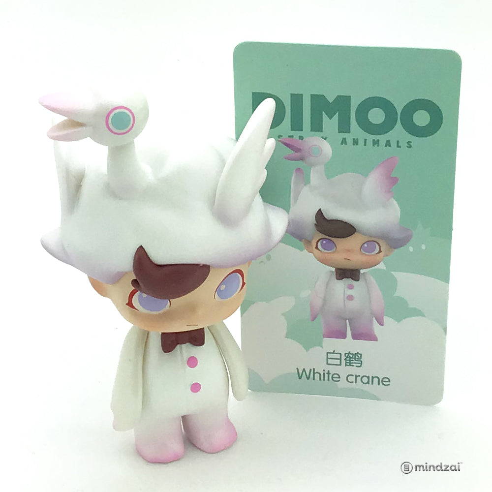Dimoo Stray Animals Blind Box Series by Dimoo x POP MART - White Crane