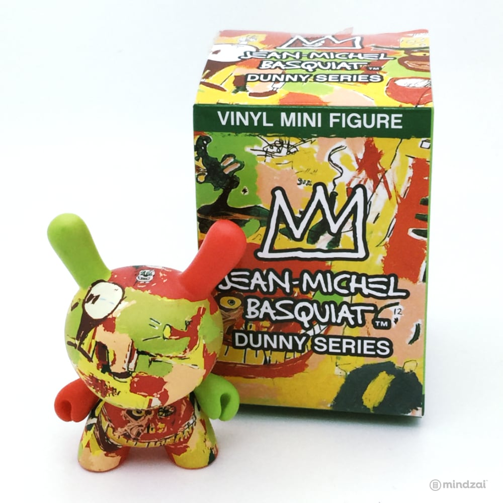 Jean Michel Basquiat Dunny Blind Box Minis Series - Wine of Babylon