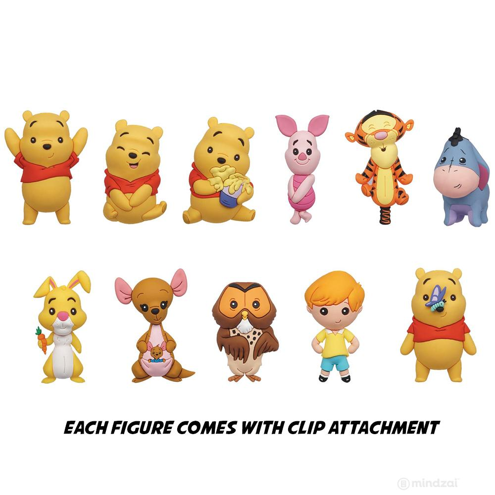 Winnie The Pooh Figural Bag Clips by Monogram