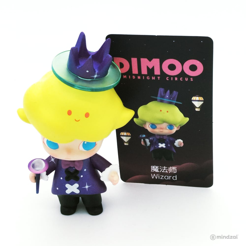 Dimoo Midnight Circus Blind Box Series by Ayan Tang x POP MART - Wizard