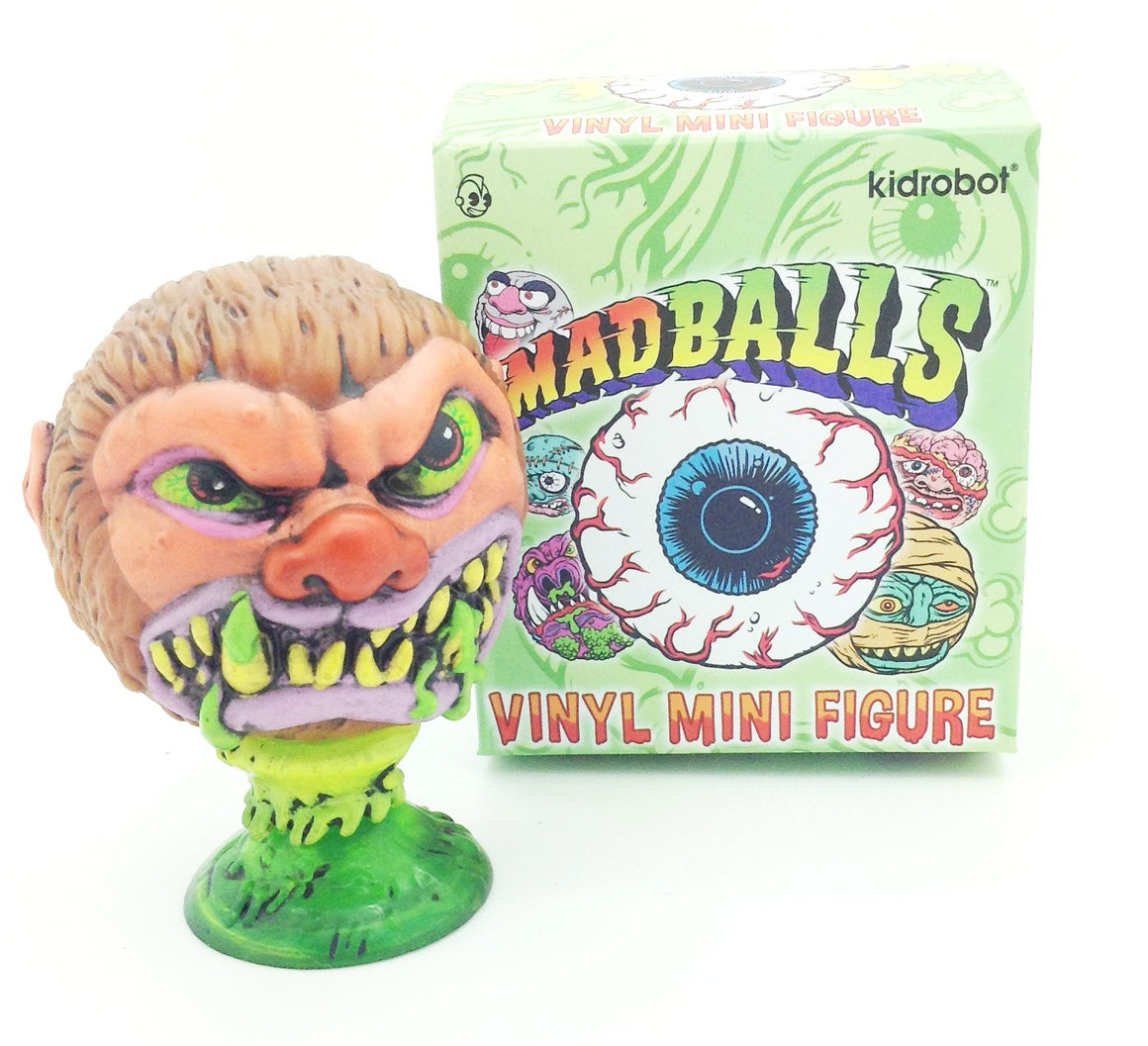 Mad Balls Vinyl Mini Figure - Wolf Breath