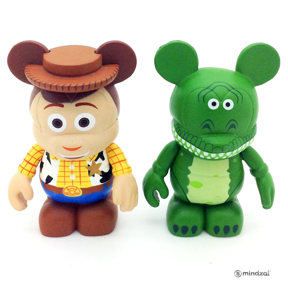 Disney Vinylmation - Toy Story Woody and Rex (Set of 2)