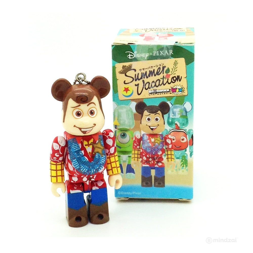 Disney WOW! x Pixar Bearbrick  - Toy Story Woody Summer Vacation Version 100% Size