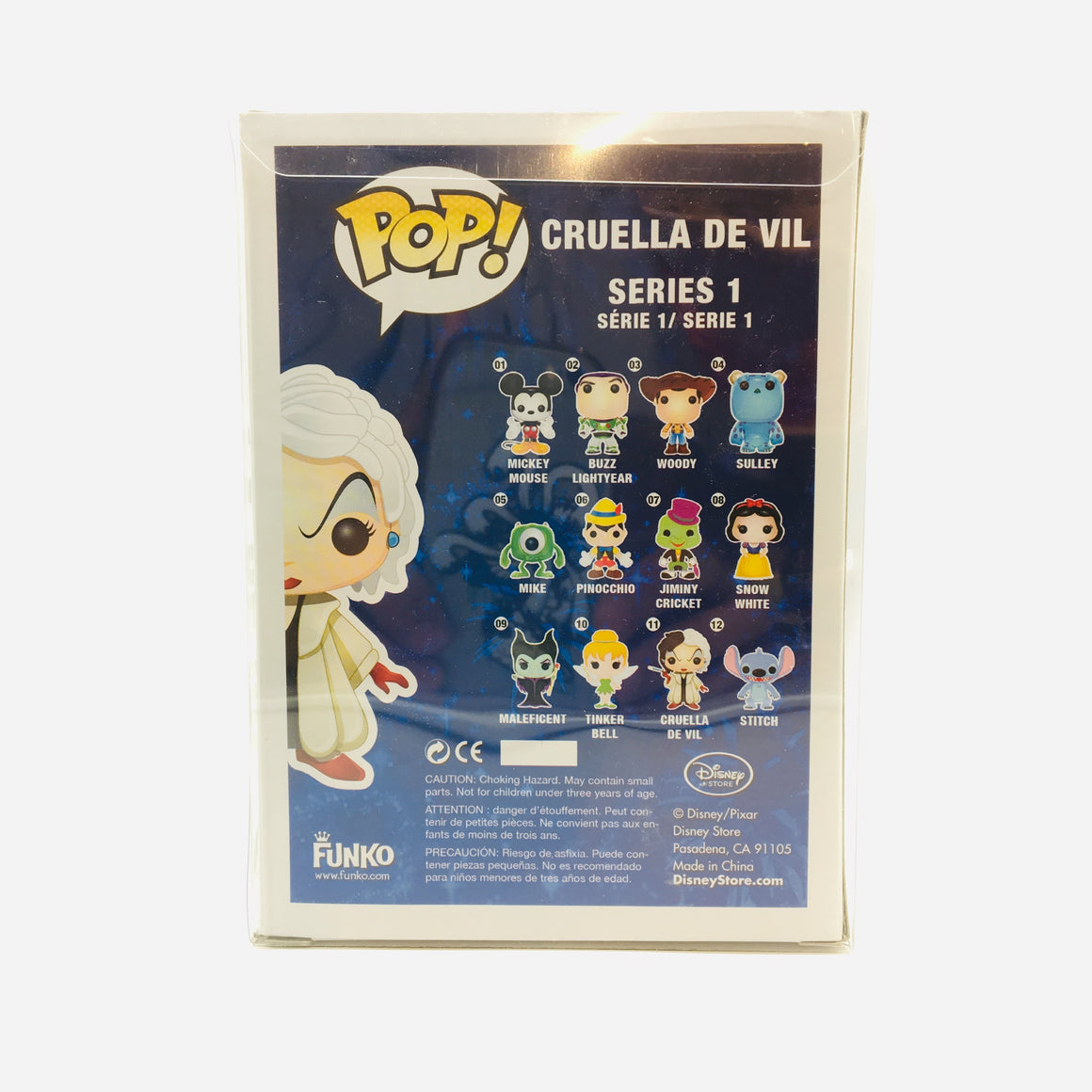 Disney Cruella De Vil Pop Toy Figure #11 Vaulted by Funko