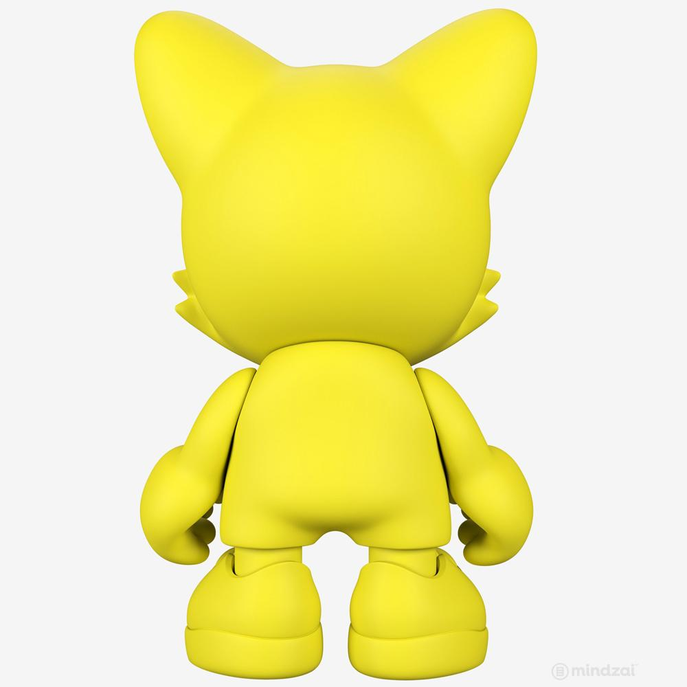 Yellow 15-INCH UberJanky Toy by Superplastic