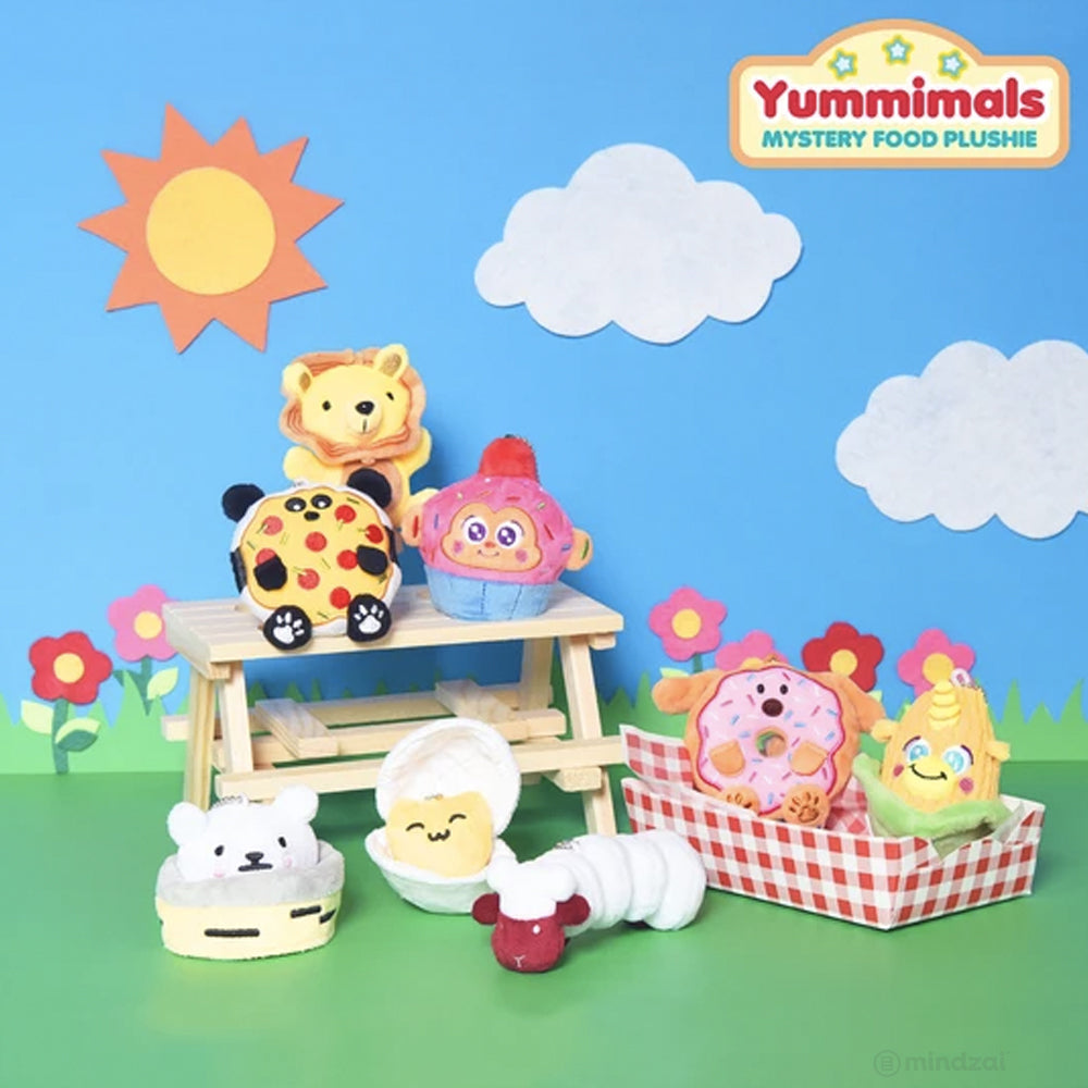 Yummimals Mystery Food Plushies by Queenie's Cards