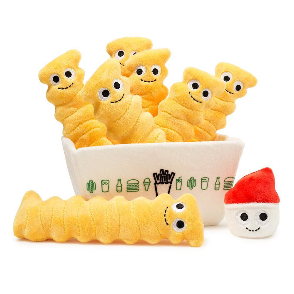 Yummy World Crinkle Cut Fries Plush by Shake Shack x Kidrobot - Pre-Order