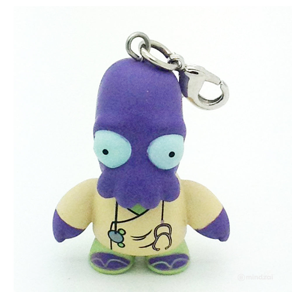 Futurama Universe X 2 Blind Box Keychain Series by Kidrobot - Zoidberg Purple
