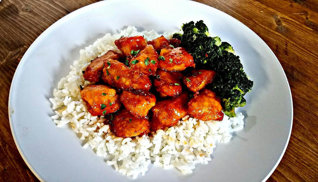 Caribeque Sweet and Sour Chicken