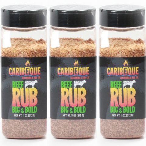 3 pack Big & Bold Beef Rub