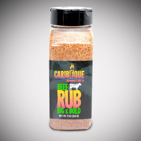 Big & Bold Beef Rub (Case) - Best BBQ Seasoning & Rub Co.
