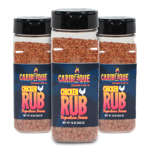 Chicken Rub (3 pack) : Signature Series - Best BBQ Seasoning & Rub Co.