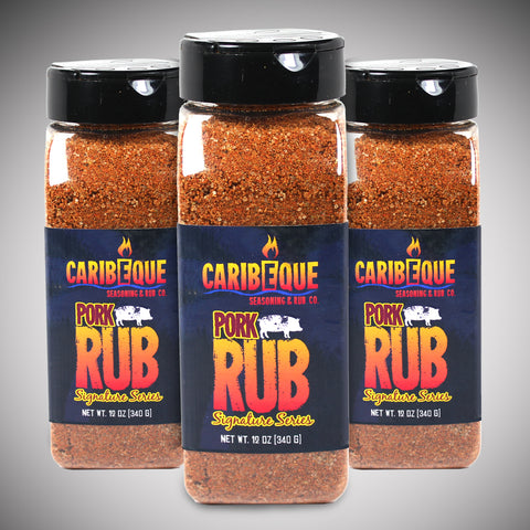 Pork Rub ( 3 Pack ) : Signature Series - Best BBQ Seasoning & Rub Co.